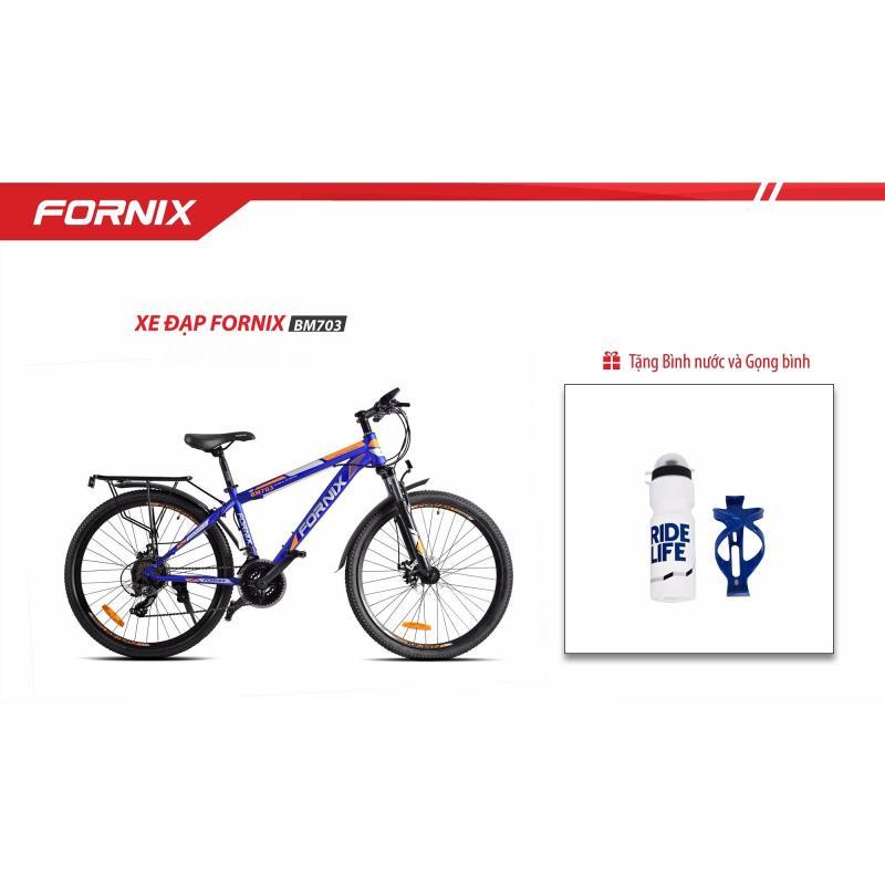 Mua Xe đạp địa hình FORNIX BM703 (xanh cam) + tặng balo nhập khẩu