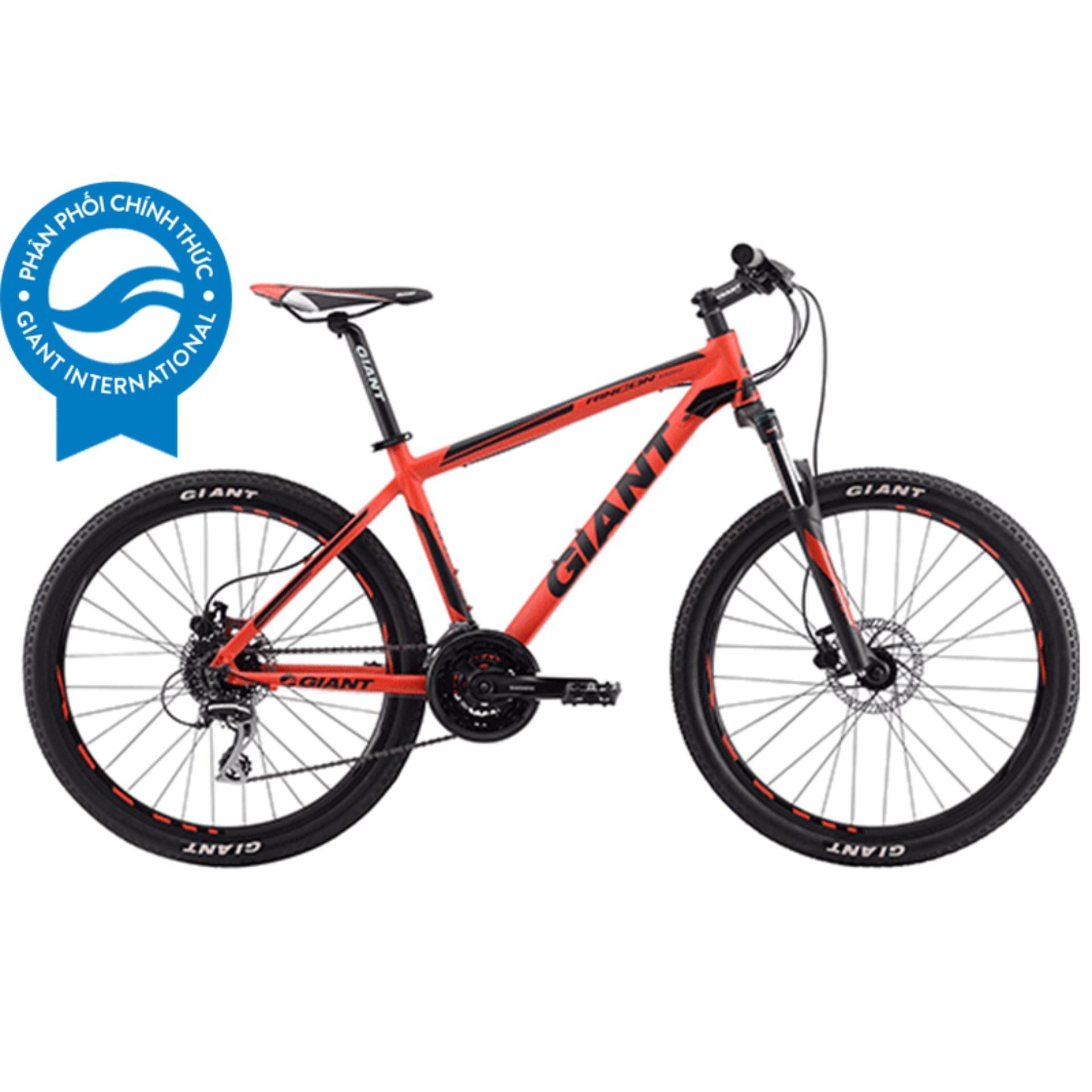 Xe đạp địa hình GIANT Rincon Disc - Size XS (Đỏ/Đen)