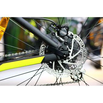 Xe đạp địa hình GIANT TALON 3 - Size M (Đen/Xanh lá)