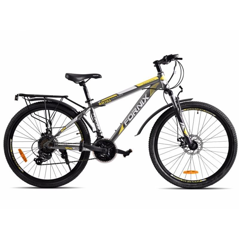 Mua Xe đạp địa hình hiệu FORNIX BM703 ( Xám vàng )