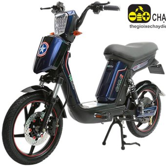 Xe đạp điện Hkbike Cap A2 (Xanh navi)