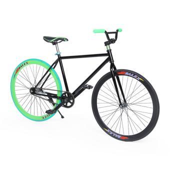 Xe đạp Fixed Gear Single Cổ Chữ A New 2017 (Đen)