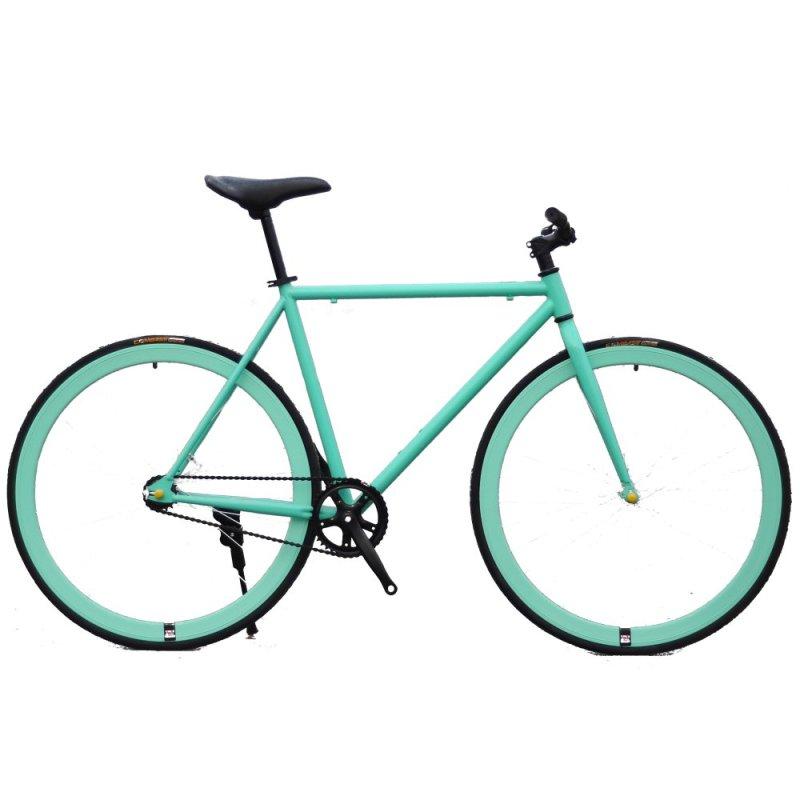 Phân phối Xe đạp Fixed Gear Single Speed (Xanh ngọc)