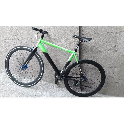 Xe đạp FixedGear FORNIX-BF100 (Xanh lá đen)