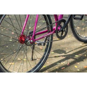 Xe đạp FixedGear, hiệu FURY, mã BF400 ( trắng ) + tặng balô nhập khẩu