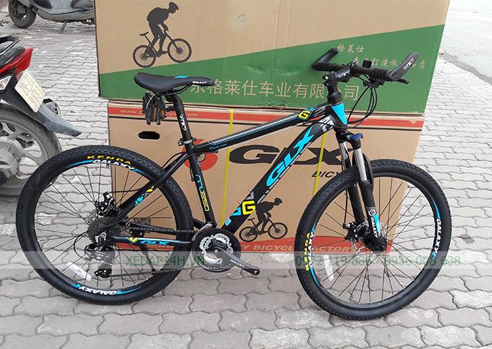 Xe đạp GALAXY ML250 – 2017 (Đen xanh lam)