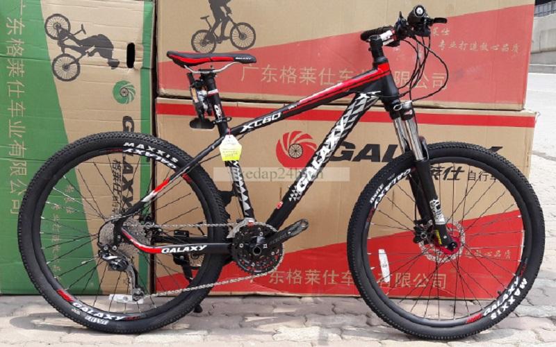 Xe đạp GALAXY XC60 2016 (Đen đỏ)