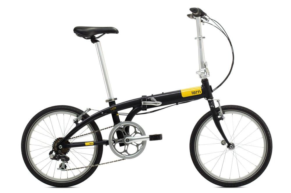Xe đạp gấp JETT TERN LINK C7 BLK (Đen)