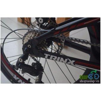 Xe đạp gấp TRINX DOLPHIN3.0 2016 (Xanh dương) + Tặng 1 bộ Tool xe đạp 11 món màu sắc ngẫu nhiên