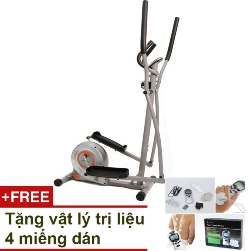 Bảng giá Xe đạp tập thể dục Air Bike AB-02 (Xám) + Tặng vật lý trị liệu 4 miếng dán