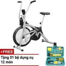 Xe đạp tập thể dục Air Bike + Tặng bộ dụng cụ 12 món