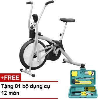 Xe đạp thể dục Air Bike + Tặng bộ dụng cụ 12 món
