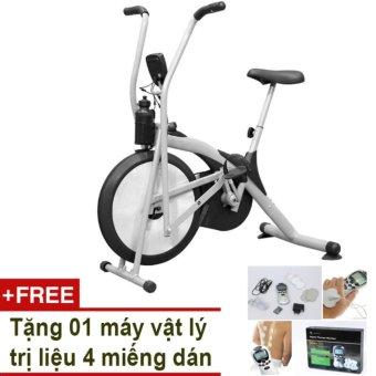 Xe đạp thể dục Air Bike + Tặng vật lý trị liệu 4 miếng dán