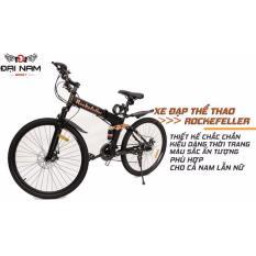 Xe đạp thể thao địa hình gấp gọn Rockefeller (Đen)