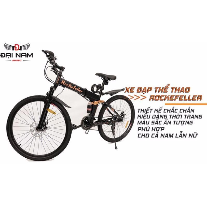Mua Xe đạp thể thao địa hình gấp gọn Rockefeller (Đen)