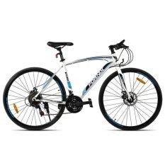 Xe đạp thể thao FORNIX - BT301 ( trắng xanh )