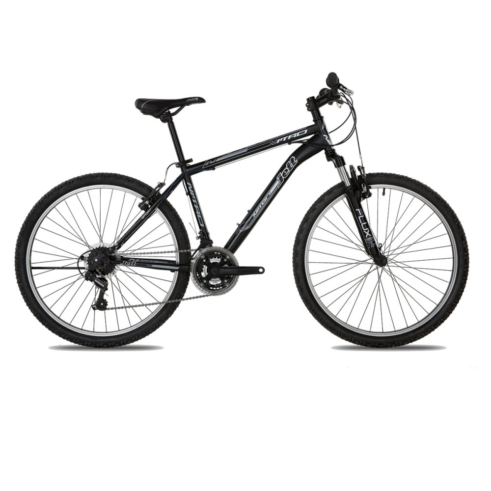 Xe đạp thể thao Jett Nitro Sport Black 2015 (Đen viền trắng)