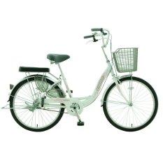 Xe đạp thời trang Asama CB 2402  (Trắng)