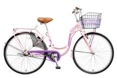 Xe đạp thời trang Asama CLD FR26  (Hồng)