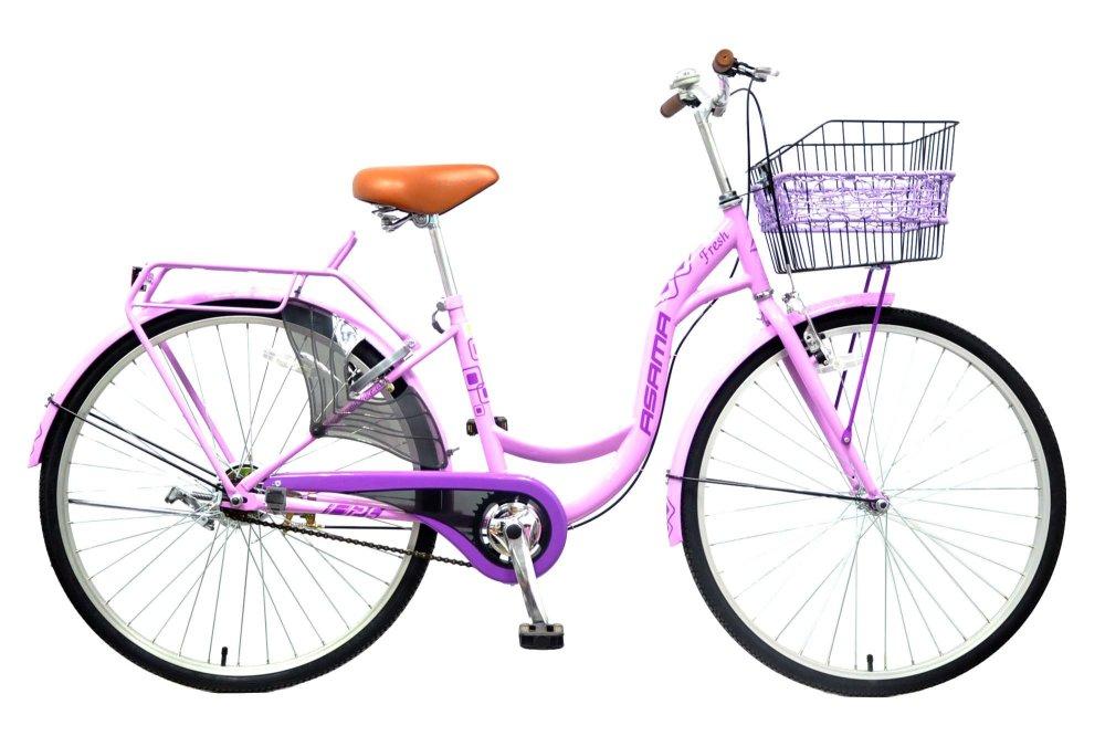 Xe đạp thời trang Asama CLD FR26  (Tím)