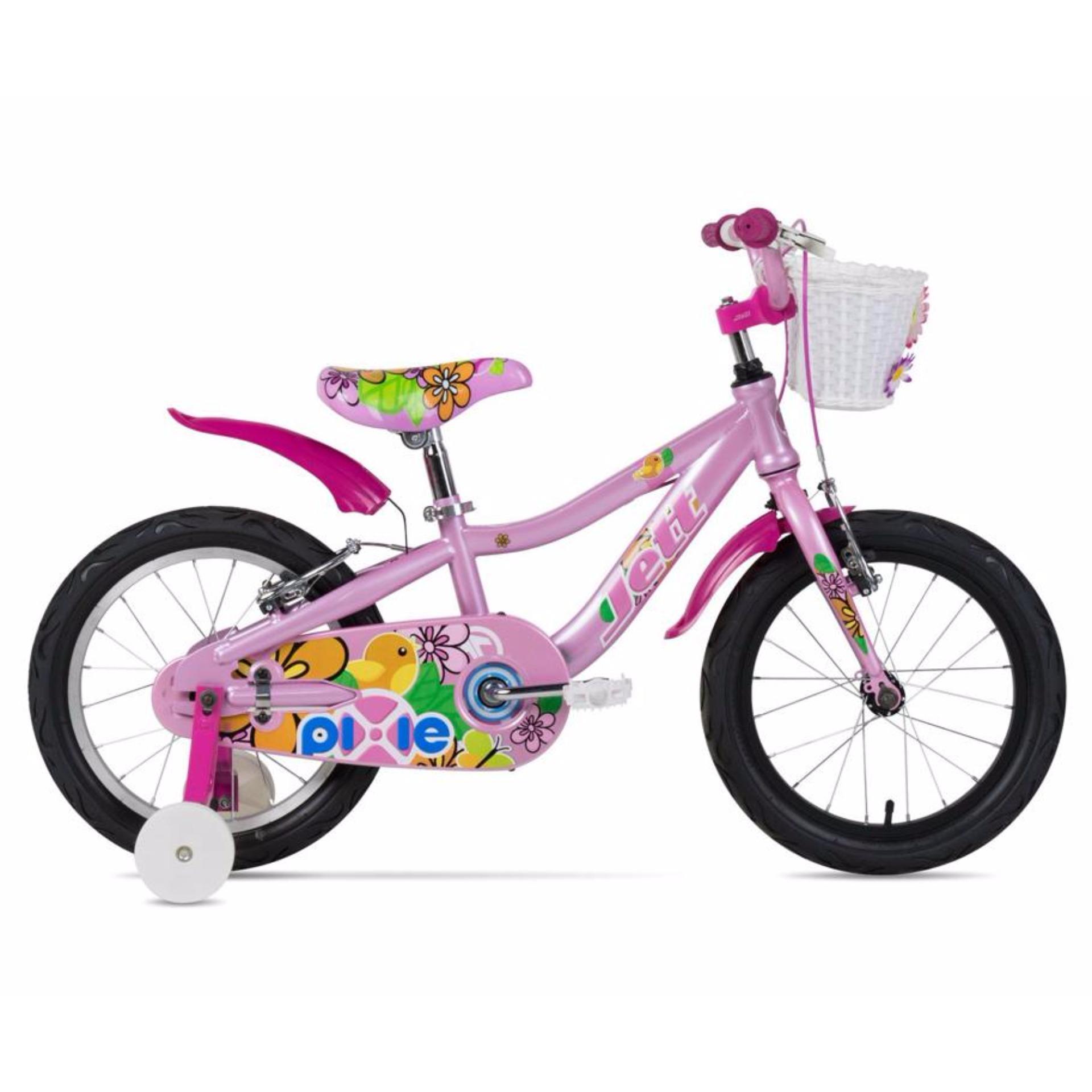 Xe Đạp Trẻ em Jett Cycles Pixie (Hồng)