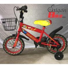 Xe đạp trẻ em LGB Bicycle 12 inch đỏ (2-7 tuổi)