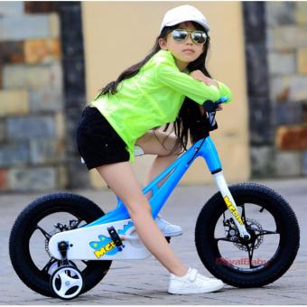 Xe đạp trẻ em Royal Baby RB14-B21 (Xanh Dương)