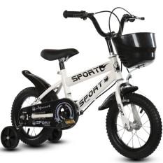 Xe đạp trẻ em SPORT 14 inch (Trắng)