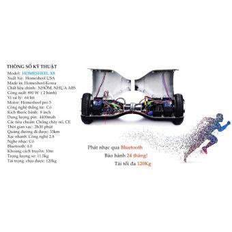 Xe điện cân bằng Homesheel X8  - Bảo hành 24 tháng