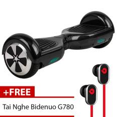 Xe Điện Thăng Bằng Thông Minh Smart Drifting Scooter (Đen) + Tặng Tai Nghe Bidenuo G780