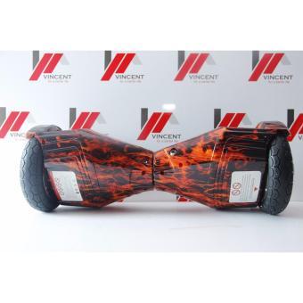 Xe điện tự cân bằng 2 bánh vincent đen đỏ lửa - AL