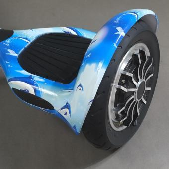 Xe điện tự cân bằng Bluetooth 10 inch xanh dương