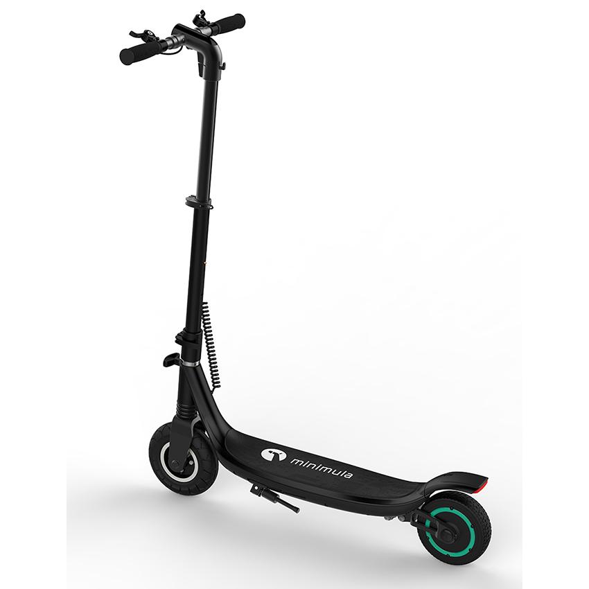 Xe scooter điện MINIMULA Eco (Đen) - Hãng Phân phối chính thức