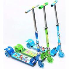 Xe trượt 3 bánh Scooter (màu xanh)