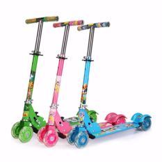 Xe trượt chòi chân cho bé (xanh lá)