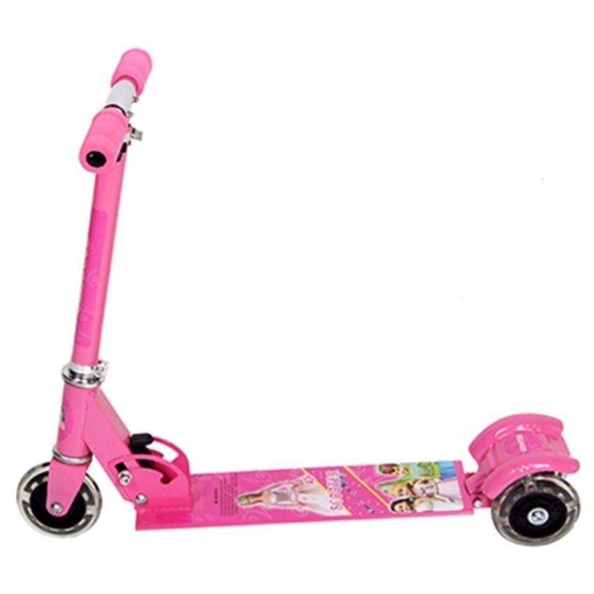 Xe trượt Scooter 3 bánh trẻ em(màu hồng)