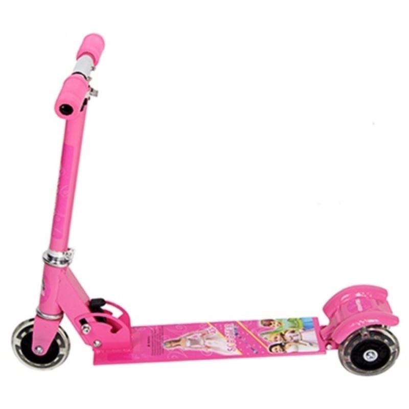 Xe trượt Scooter 3 bánh trẻ em + Tặng 01 dụng cụ lấy ráy tai có đèn