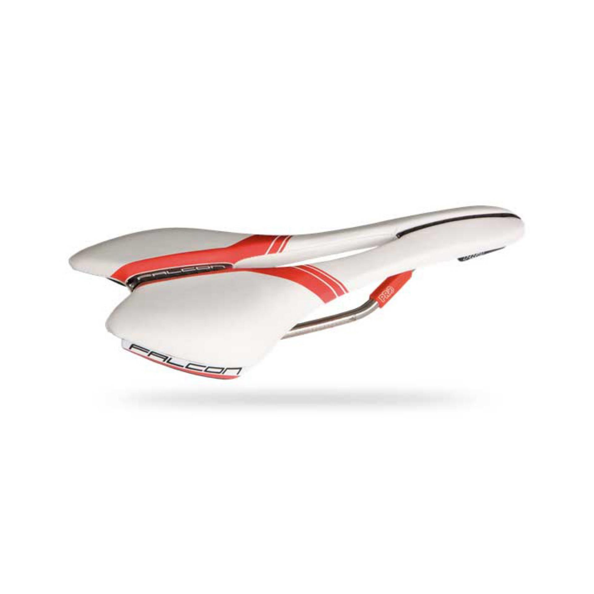 Yên xe đạp Shimano Pro Falcon TI AF(trắng)
