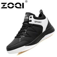ZOQI Giày Thể Thao Sneaker chống trơn trượt Bóng Rổ (Trắng và Đen)-quốc tế