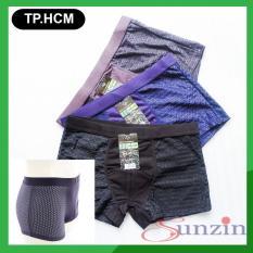 [Nhập ELMAR31 giảm 10% tối đa 200k đơn từ 99k]Sunzin.HCM miễn phí 99k (Combo 3 chiếc) Quần SỊP ĐÙI NAM THÔNG HƠI CÓ LỖ – Hàng Nhật bản / Quần sì nam / quần lót nam / quần boxer nam / Sịp mens