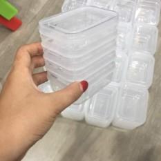 Hộp trữ đồ đông lạnh-hộp chia thức ăn dặm cho bé song long cao cấp (1 Hộp ) – 00176