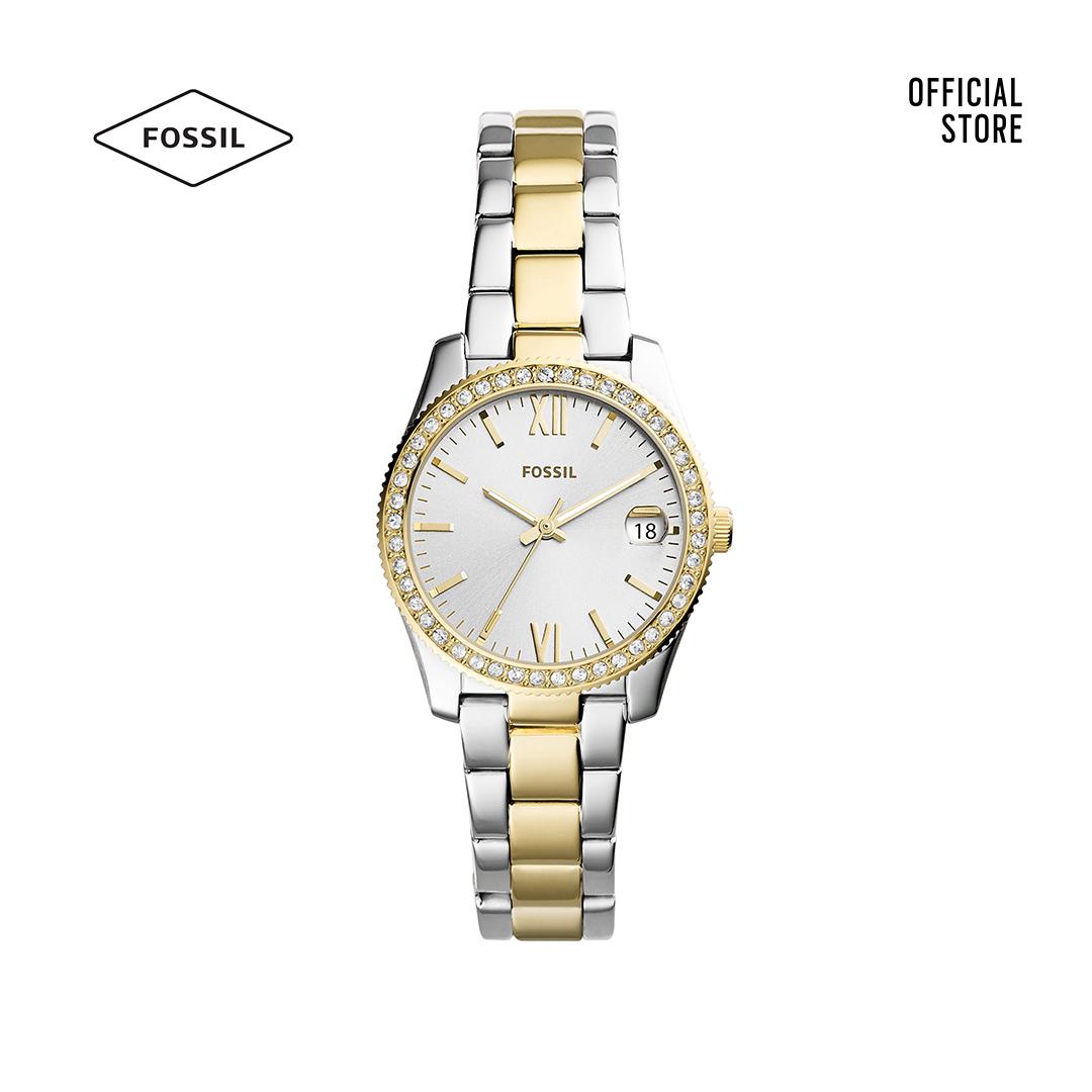 Đồng hồ nữ Fossil SCARLETTE MINI dây kim loại ES4319 - hai màu