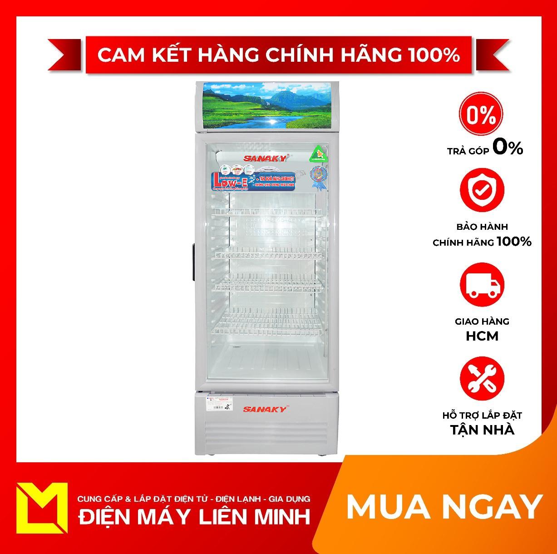 TRẢ GÓP 0% – Tủ mát Sanaky VH-258KL 250 lít – Miễn phí vận chuyển HCM