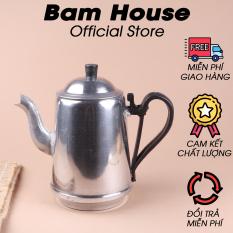 Bình nhôm đựng trà Bam House dung tích 1L5 cao cấp BN02 – Bam House