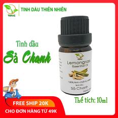 Tinh dầu Sả Chanh nguyên chất TAMAS chai 10ml, đuổi muỗi và côn trùng hiệu quả, dùng xông phòng cho bé tạo hương thơm tươi mát giúp bé thoải mái ngủ ngon, dùng được cho đèn xông tinh dầu, máy phun sương, máy khuếch tán tinh dầu.