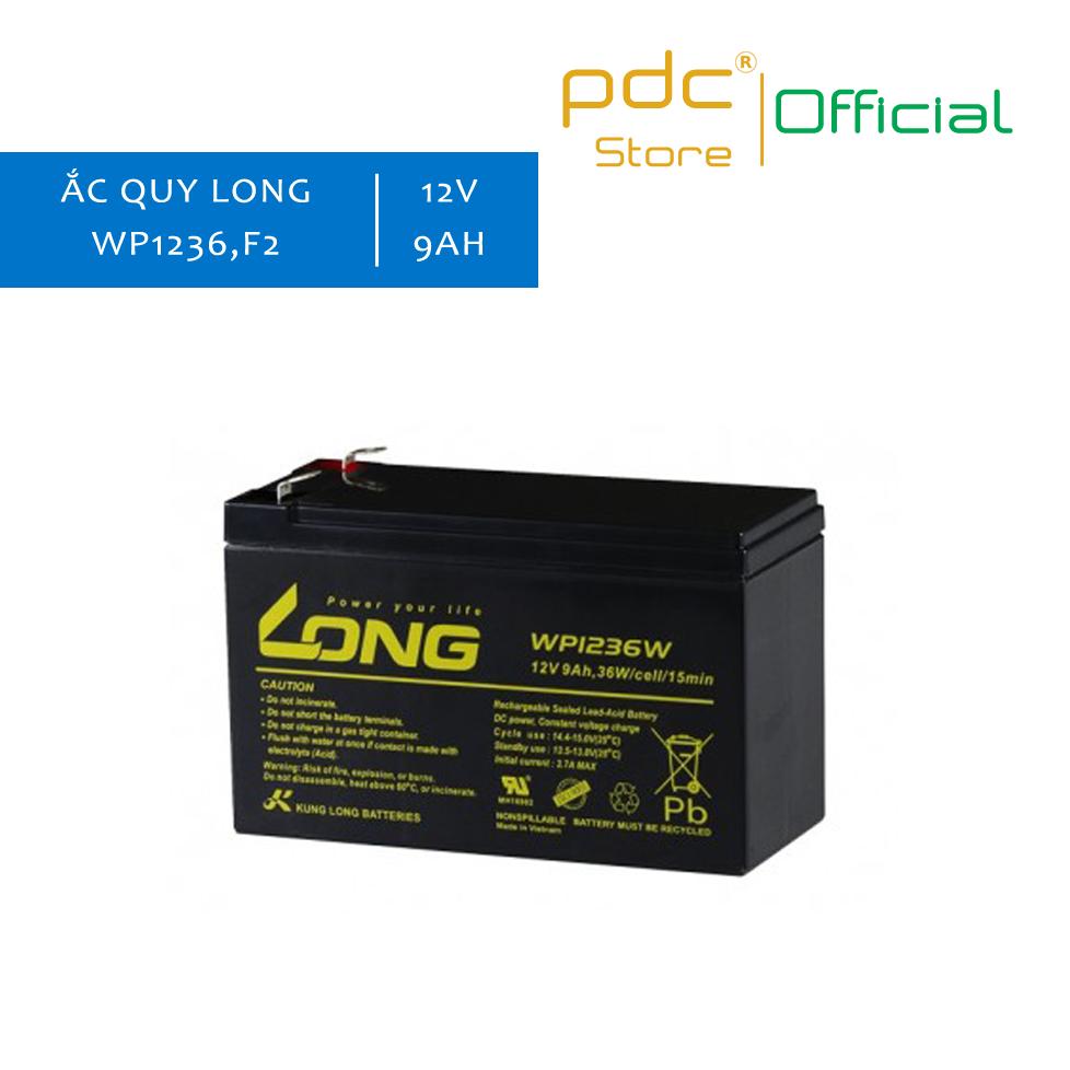 Ắc Quy LONG 12V 9Ah – WP1236W-F2 Sử Dụng Cho UPS