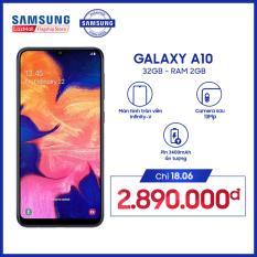 Điện thoại Samsung Galaxy A10 32GB/2G – Hàng phân phối chính hãng