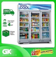 TRẢ GÓP 0% – Tủ mát PANASONIC 1545 lít SBC- P3DB có thiết kế dạng tủ đứng với 3 ngăn cùng 3 cửa thuận tiện cho người dùng bảo quản cũng như phân loại các loại thức uống được gòn gàng ngăn nắp hơn
