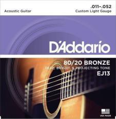 Dây Đàn Guitar Acoustic Addario EJ13