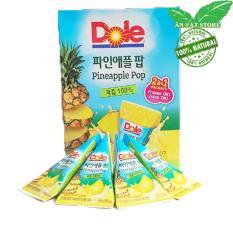 Kem Trái Cây Nguyên Chất Nhập Khẩu Hàn Quốc 1 Hộp 8 Bịch 63ml (bỏ tủ đá hoặc uống trực tiếp ) – Trái Thơm – Ăn Vặt Store